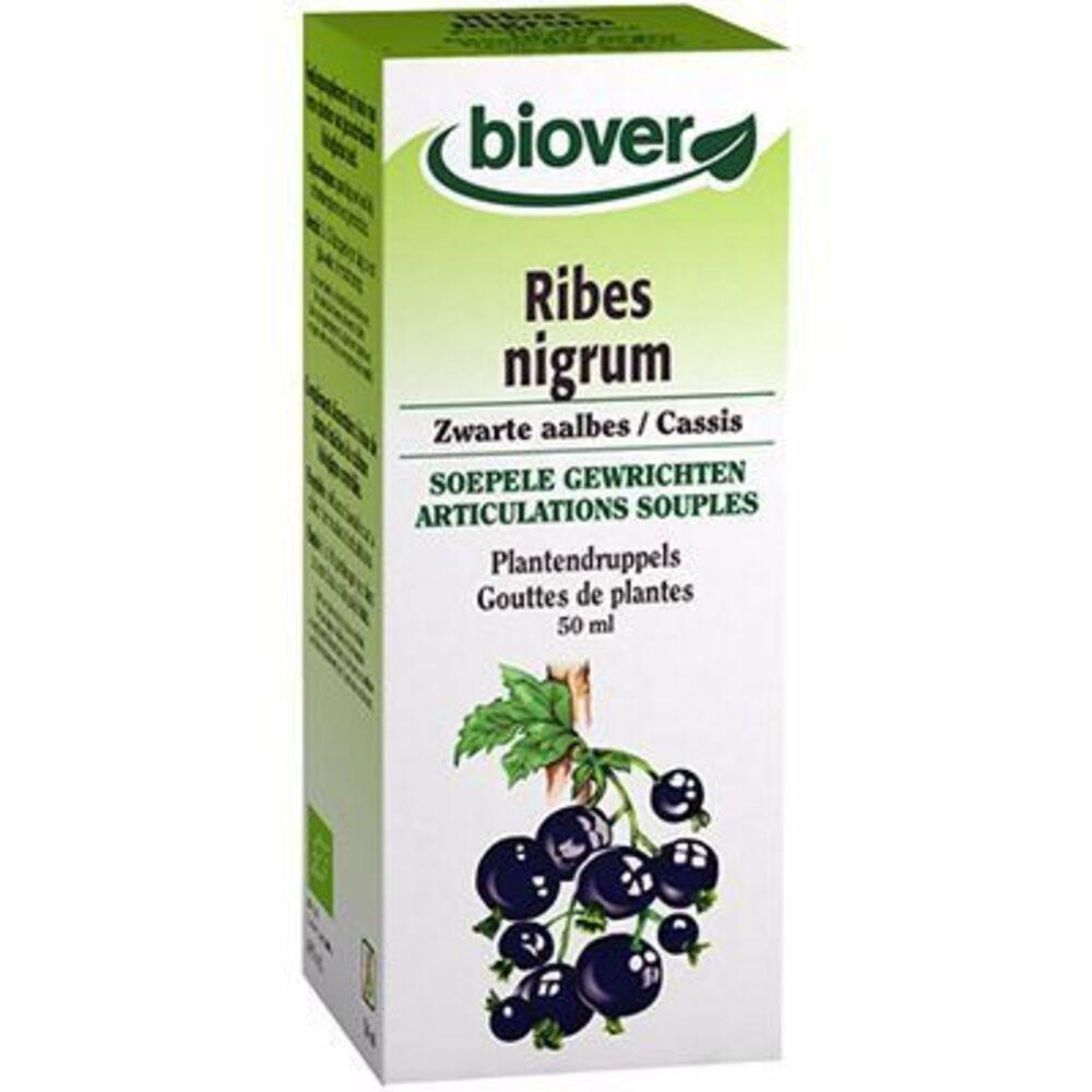 Biover teinture mère cassis ribes nigrum bio 50ml - 50.0 ml - gouttes de plantes - teintures mères - biover Souplesse des articulations-8988