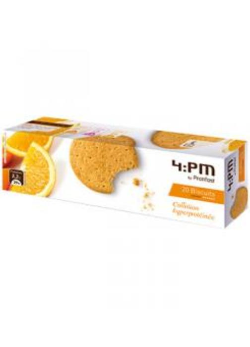 Biscuit ecorces oranges x20 Protifast-148476