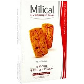 Biscuits pépites de chocolat x16 - milical -204138