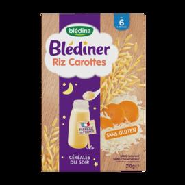 Blédiner riz carottes 210g - bledina -229006