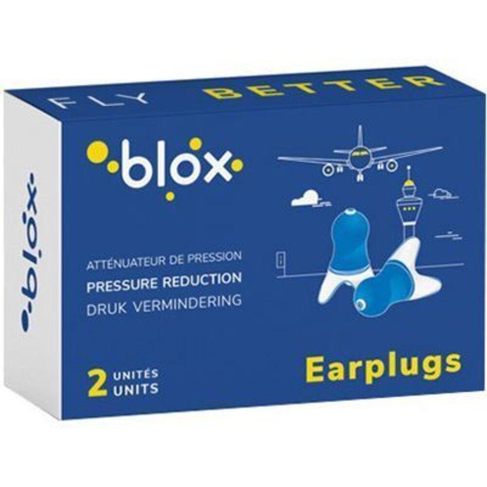 Blox bouchons d'oreille atténuateur de pression - 1 paire - blox -225749