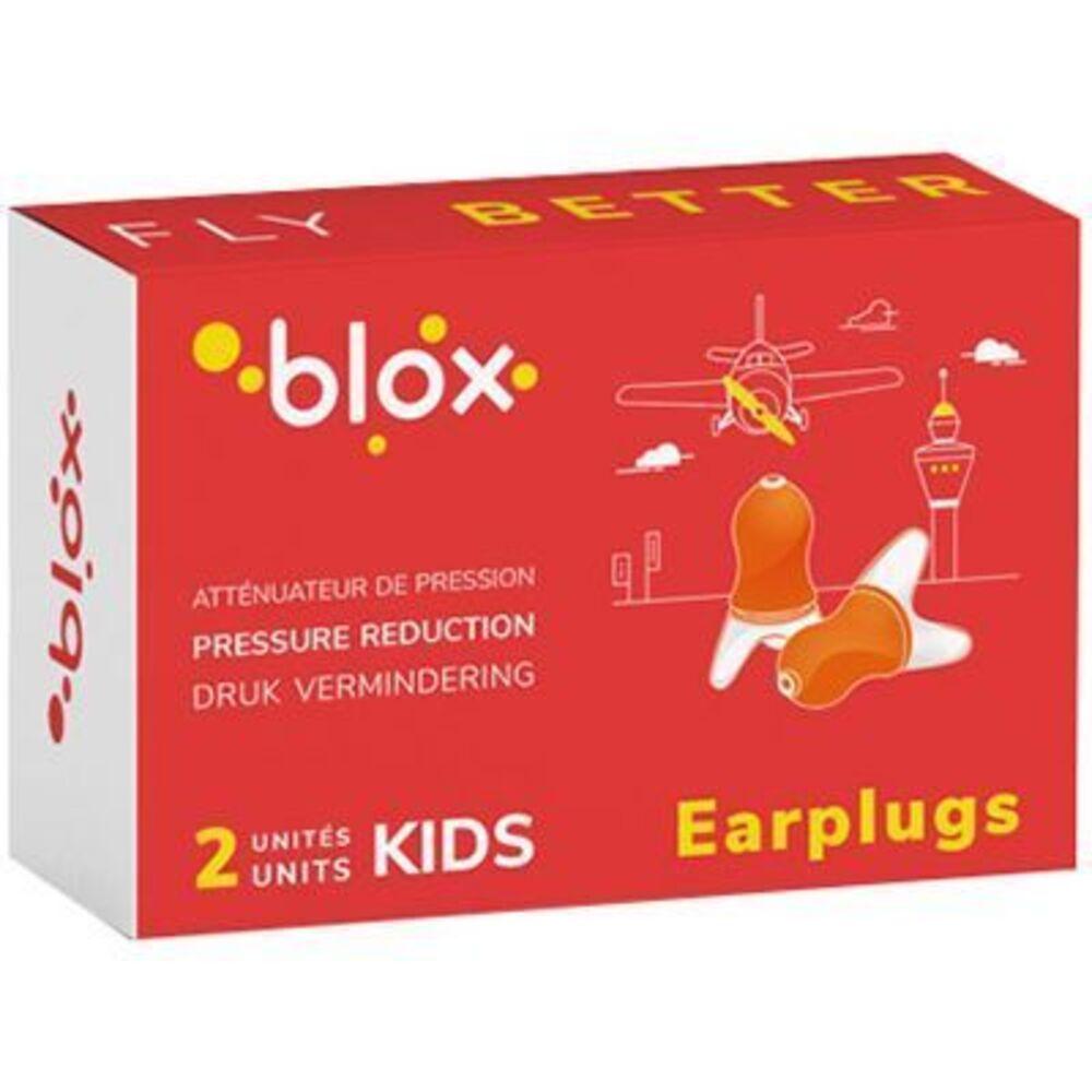 Blox bouchons d'oreille kids atténuateur de pression - 1 paire - blox -225750