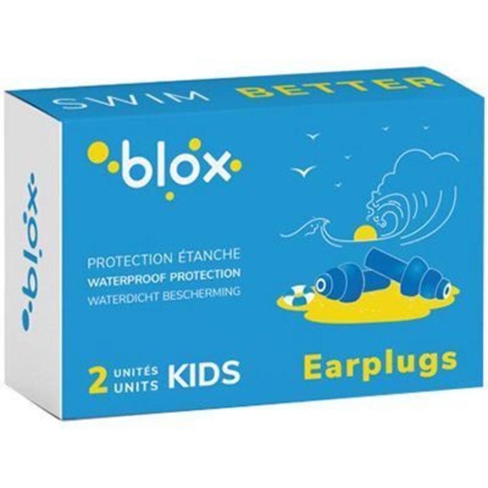 Blox bouchons d'oreille kids étanche à l'eau - 1 paire - blox -225746