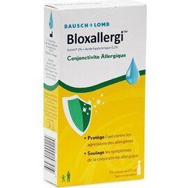 Bloxallergi conjonctivite allergique 20x0,5ml - bausch & lomb -226349