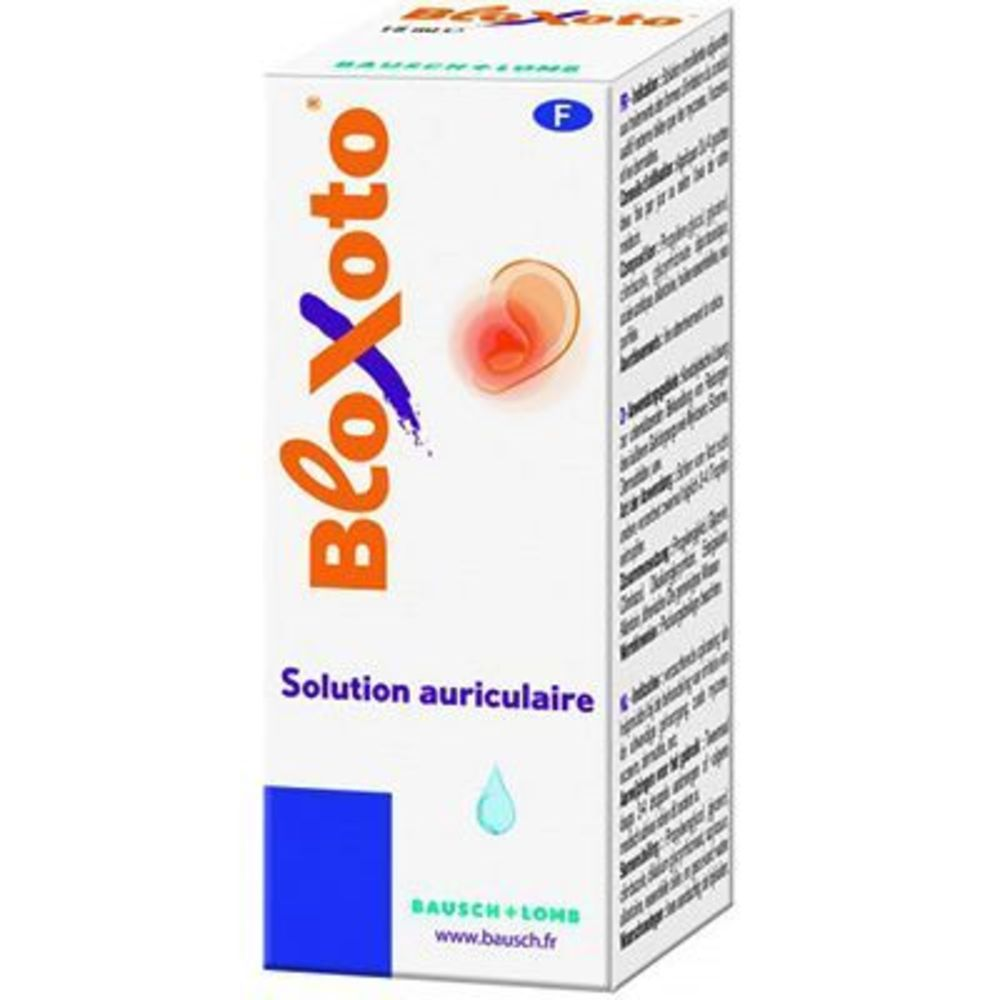 Bloxoto solution auriculaire 15ml - 15.0 ml - bausch & lomb -144538