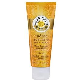 Bois d'orange crème sublime - 75.0 ml - mains - roger & gallet -126194