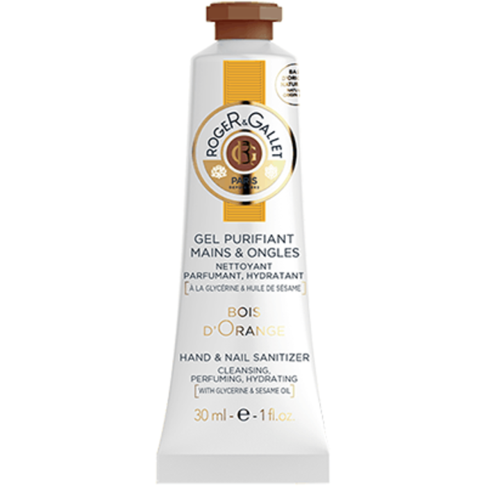 Bois d'orange gel purifiant mains & ongles 30ml Roger & gallet-220510