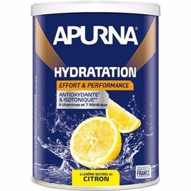 Boisson hydratation citron pot 500g - apurna -216654