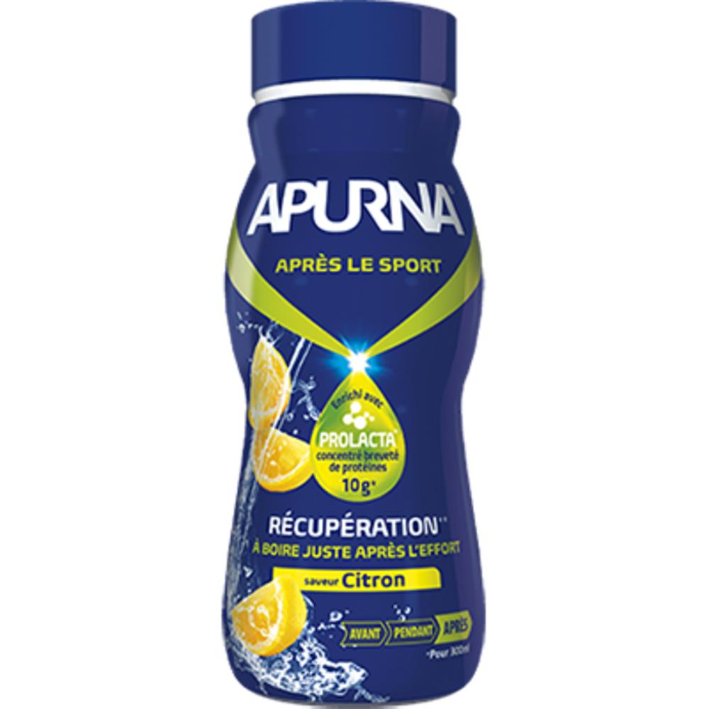 Boisson récupération citron - 300.0 ml - apurna -207338