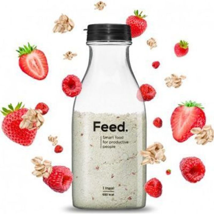 Boisson repas complet fruits rouges 650kcal 150g Feed-222081