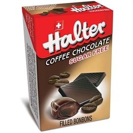 Bonbons café chocolat sans sucre 36g - halter -197214