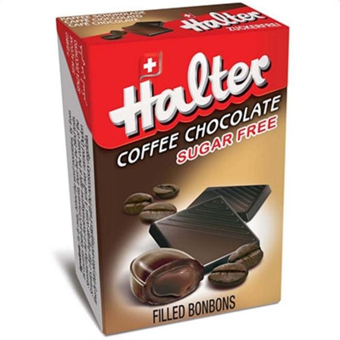 Bonbons café chocolat sans sucre 36g Halter-197214