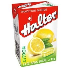 Bonbons citron sans sucre - halter -206698