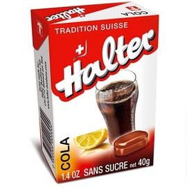 Bonbons cola sans sucre 40g - halter -195033