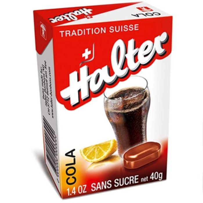 Bonbons cola sans sucre 40g Halter-195033