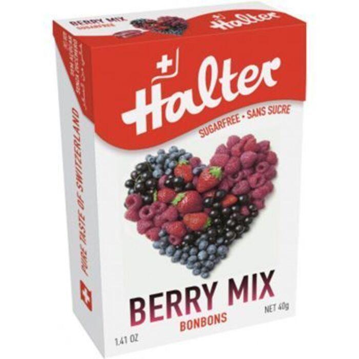 Bonbons fruits rouges sans sucre 40g Halter-226012