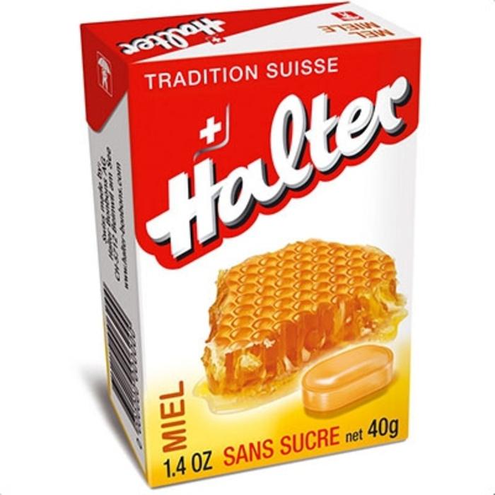 Bonbons miel sans sucre - 40g Halter-197218