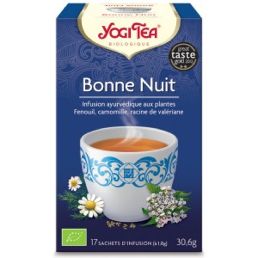 Bonne nuit bio - 17 infusettes - divers - yogi tea -190035