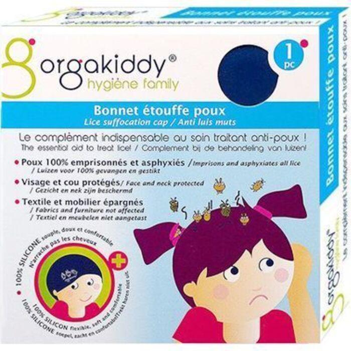 Bonnet etouffe poux bleu Orgakiddy-223754