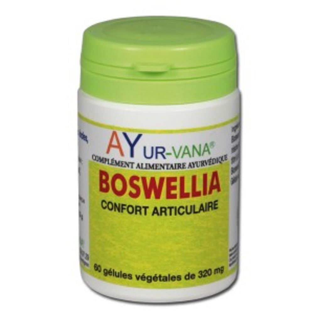 Boswellia (boswellia serata) - 60.0 unites - compléments alimentaires - ayur-vana Articulation, souplesse-1401