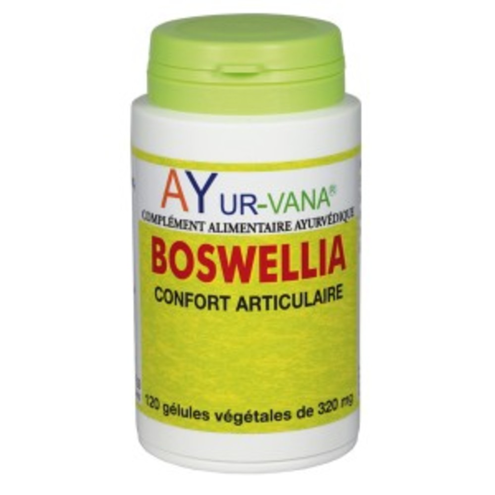 Boswellia extrait 65% d'acides boswelliques - 120 gélules... - divers - ayur-vana -188767