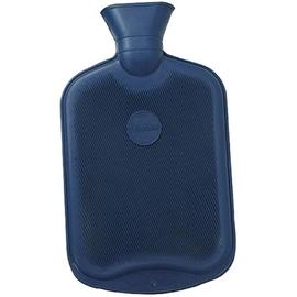 Bouillotte caoutchouc bleu marine - bouillottes caoutchou lamellees adultes - sanodiane -5716