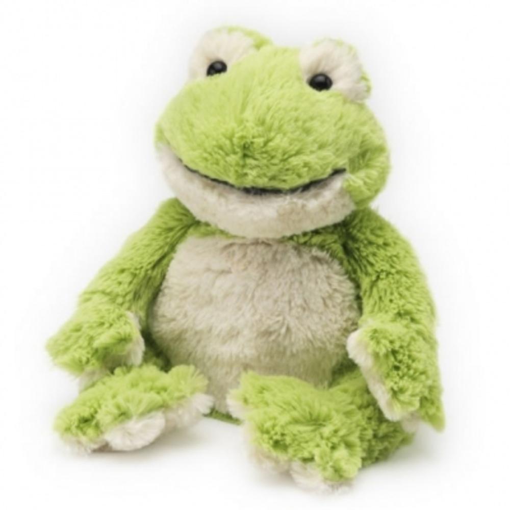 Bouillotte peluche grenouille - intelex -199621
