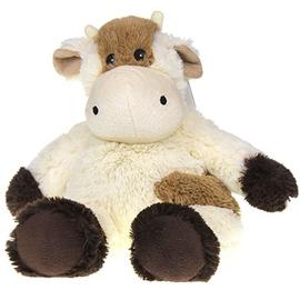 Bouillotte peluche vache marron - soframar -146617