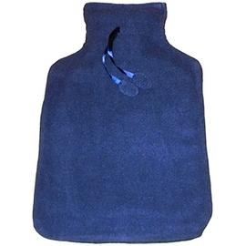 Bouillotte polaire bleu marine - bouillottes habillées adultes - sanodiane -5720