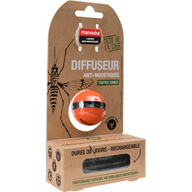 Boule diffuseur anti-moustiques + recharge 6ml - manouka -210116