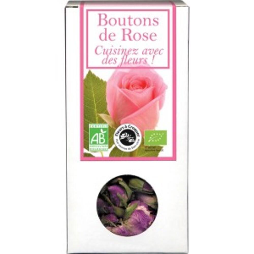 Boutons de rose bio - boîte de 30 g - divers - florisens -135785