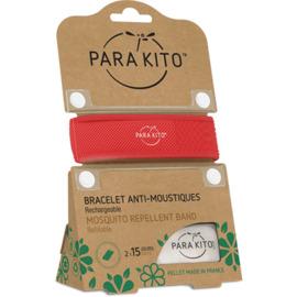 Bracelet anti-moustique rouge - parakito -220895