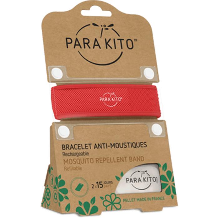Bracelet anti-moustique rouge Para kito-220895