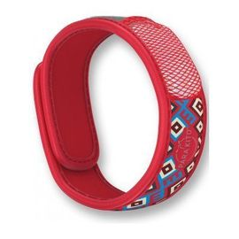 Bracelet anti-moustiques maya rouge - parakito -226590