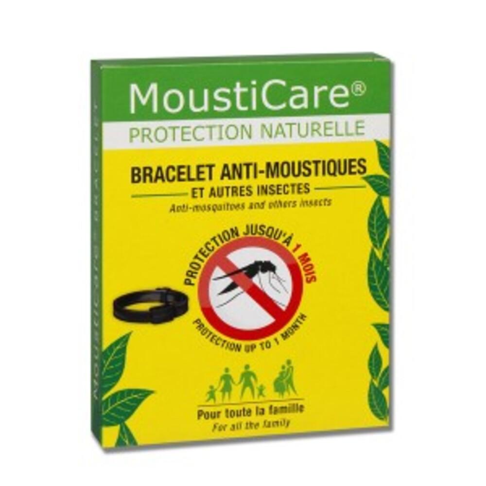 Bracelet anti-moustiques noir - divers - mousticare -136995