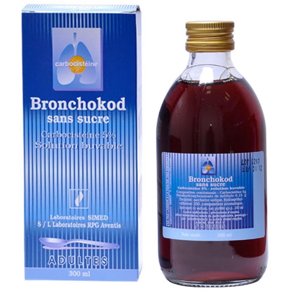 Bronchokod adultes sans sucre Sanofi-192527