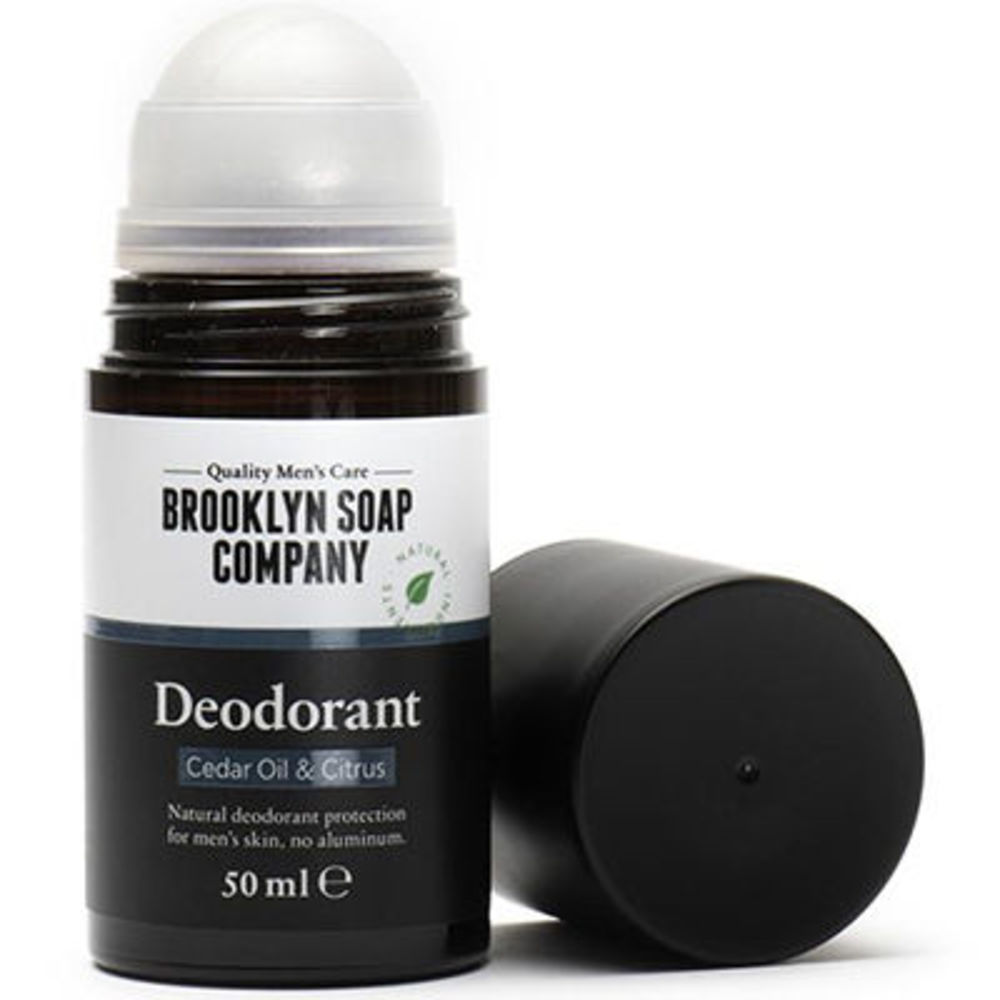 Brooklyn soap déodorant huile de cèdre & agrumes 50ml - brooklyn soap -226572