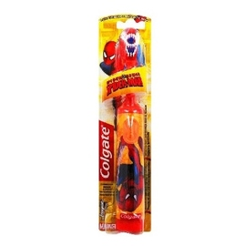 Brosse à dents à piles spiderman - colgate -149926