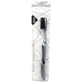 Brosse à dents black edition souple - superwhite -226705