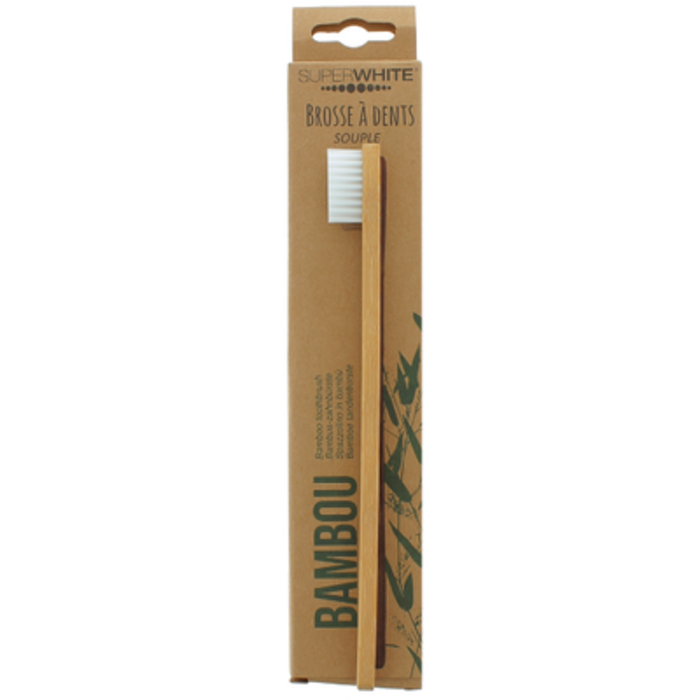Brosse à dents en bambou Superwhite-222871