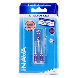 Brossettes recharges - 6 à 4 mm - inava -145463