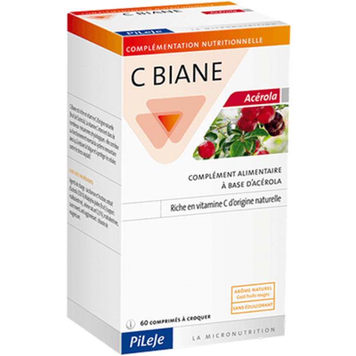 C-biane acérola - 60 comprimés Pileje-203282
