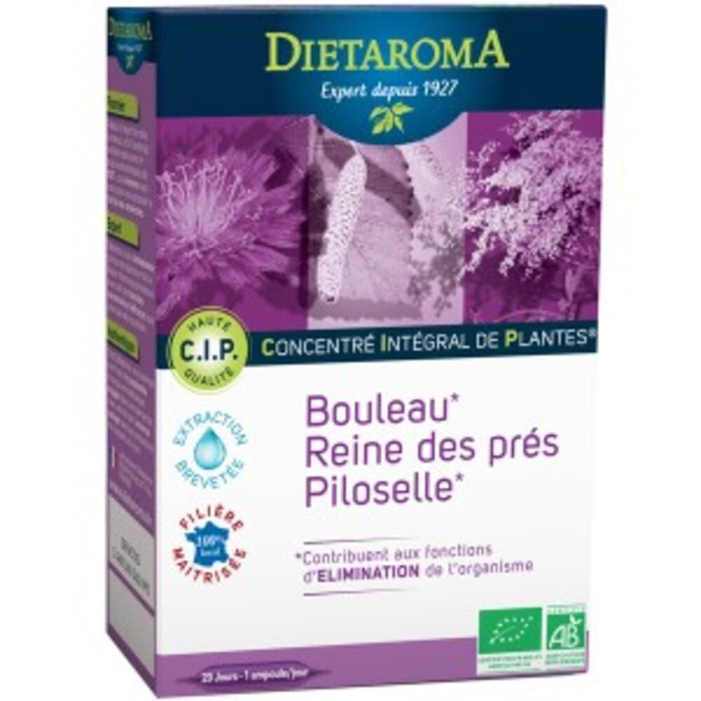 C.i.p. minceur bio - 20 ampoules de 10 ml - divers - diétaroma -142017