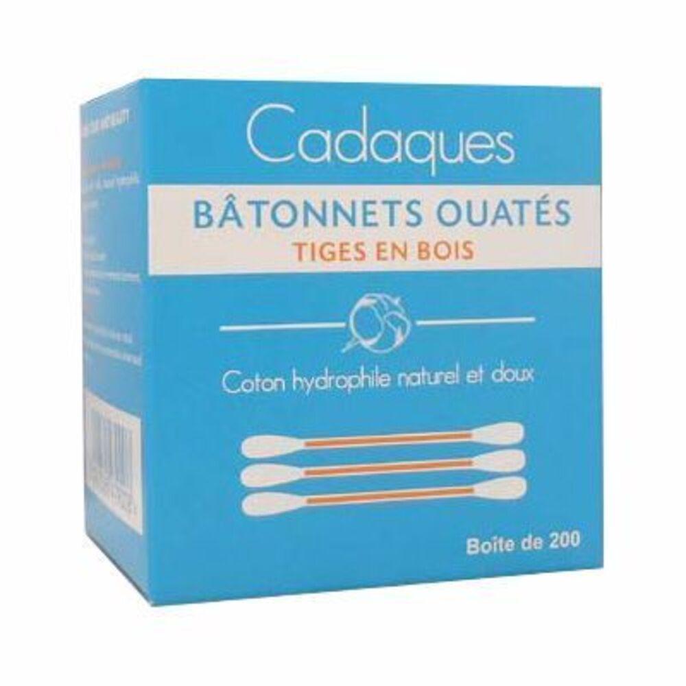 CADAQUES Bâtonnets Ouatés Tiges en Bois x200 - Cadaques -215136