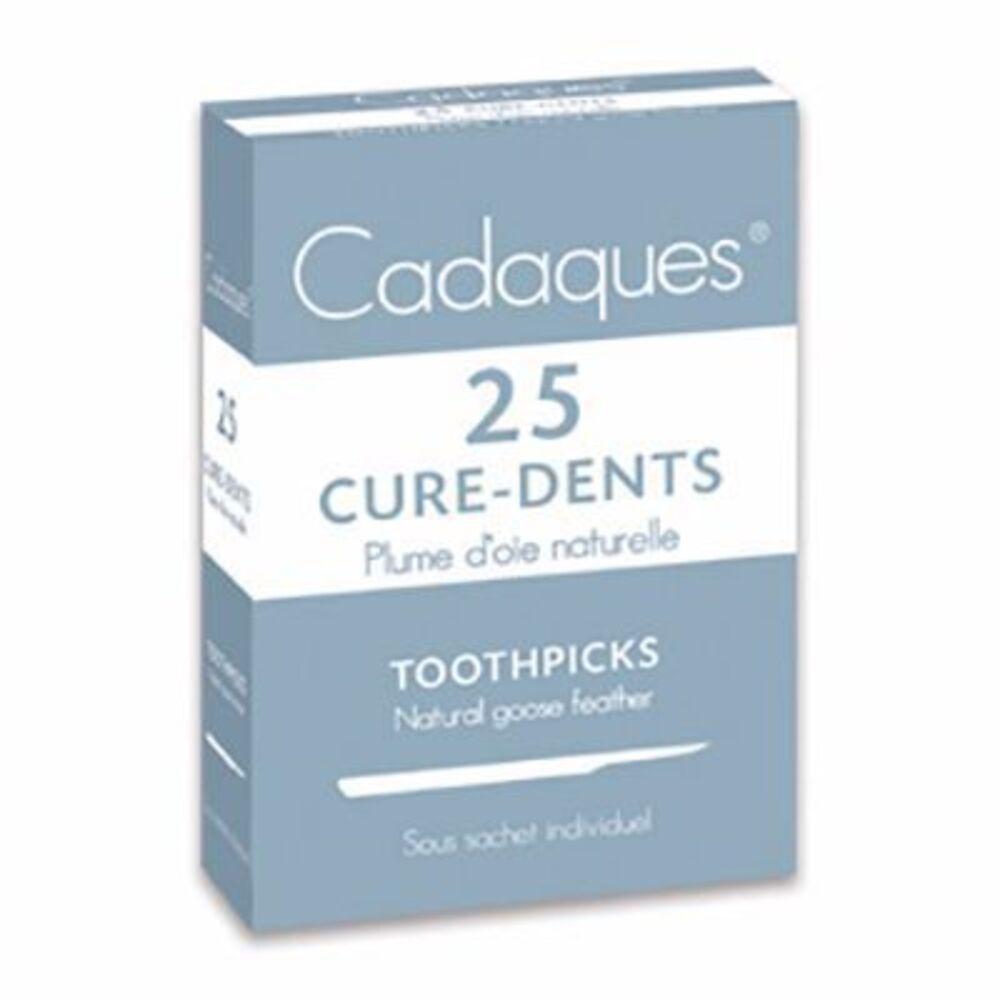 CADAQUES Cure-dents en Plume d'Oie Naturelle x25 - Cadaques -215137