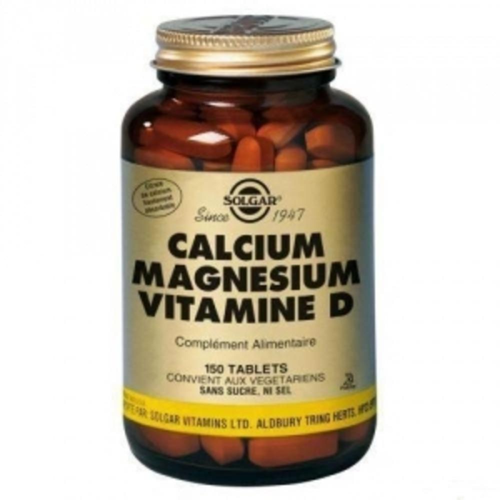 Calcium magnesium vitamine d - solgar -197748