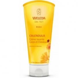 Calendula bébé crème lavante - 200ml - 200.0 ml - bébé - weleda Nettoie en douceur-9720