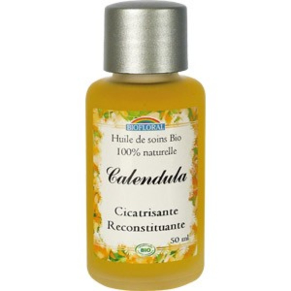 Calendula bio - 50.0 ml - huiles cosmétiques - biofloral -107070
