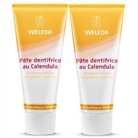 Calendula pâte dentifrice - lot de 2 - 75.0 ml - soins bucco-dentaires - weleda -103347