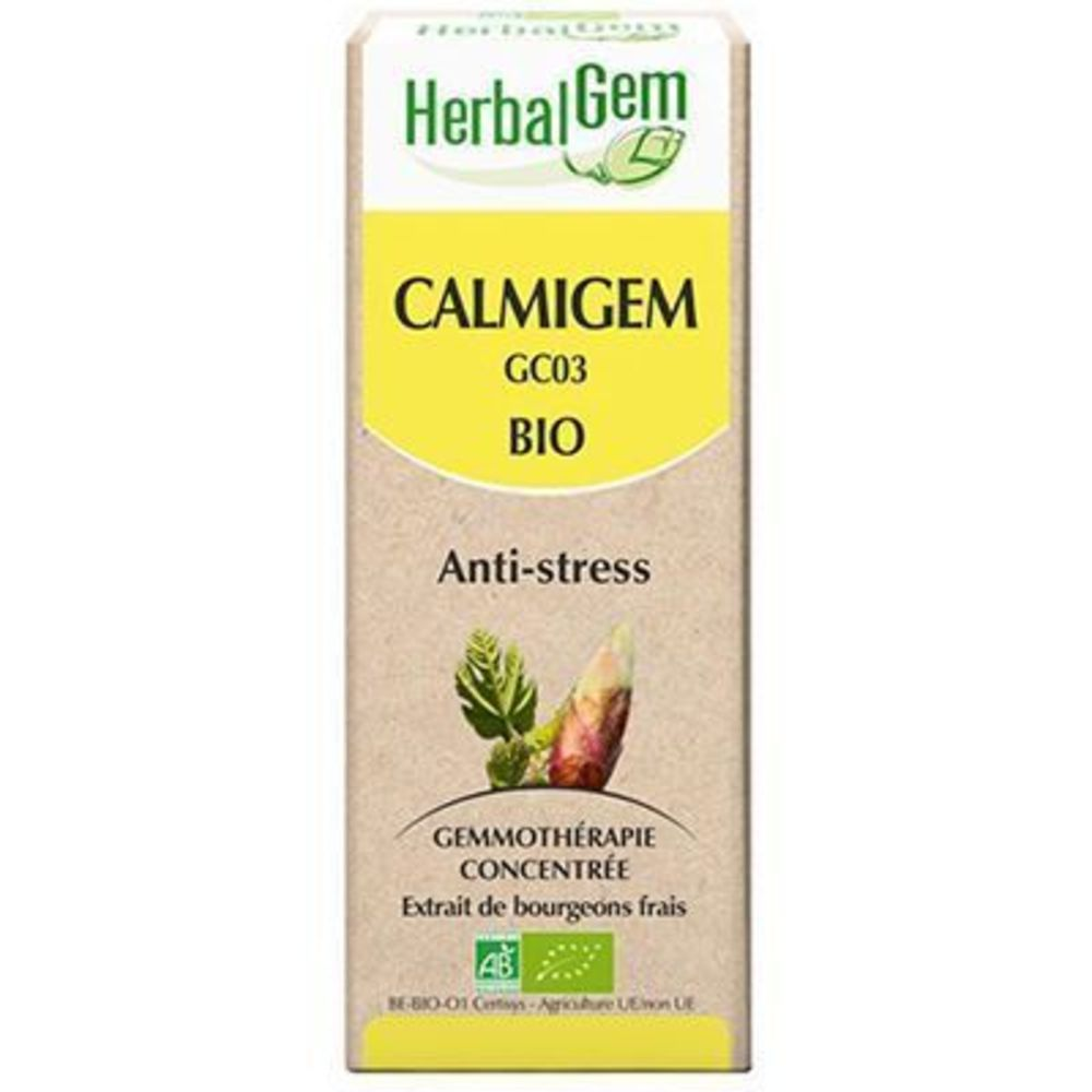 Calmigem bio complexe anti-stress 15 ml - divers - herbalgem -189236